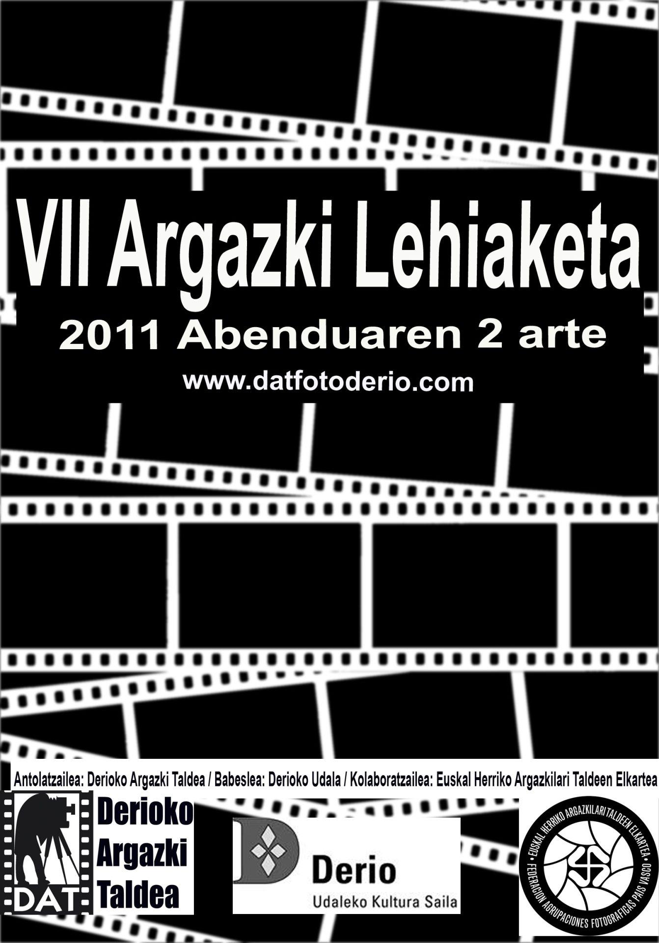 DAT Concurso 2011 VII Cartel