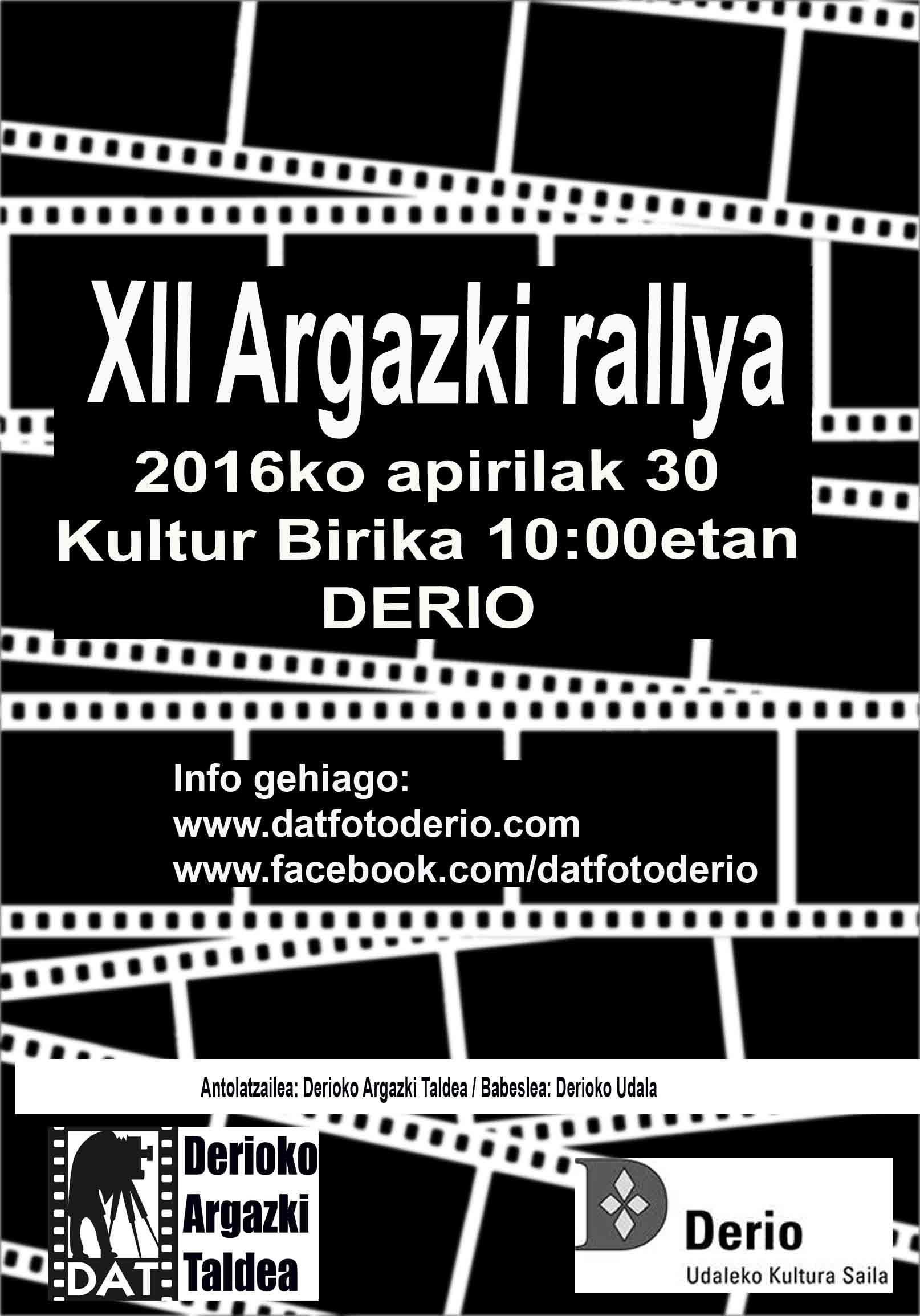 2016 XII Rally cartel